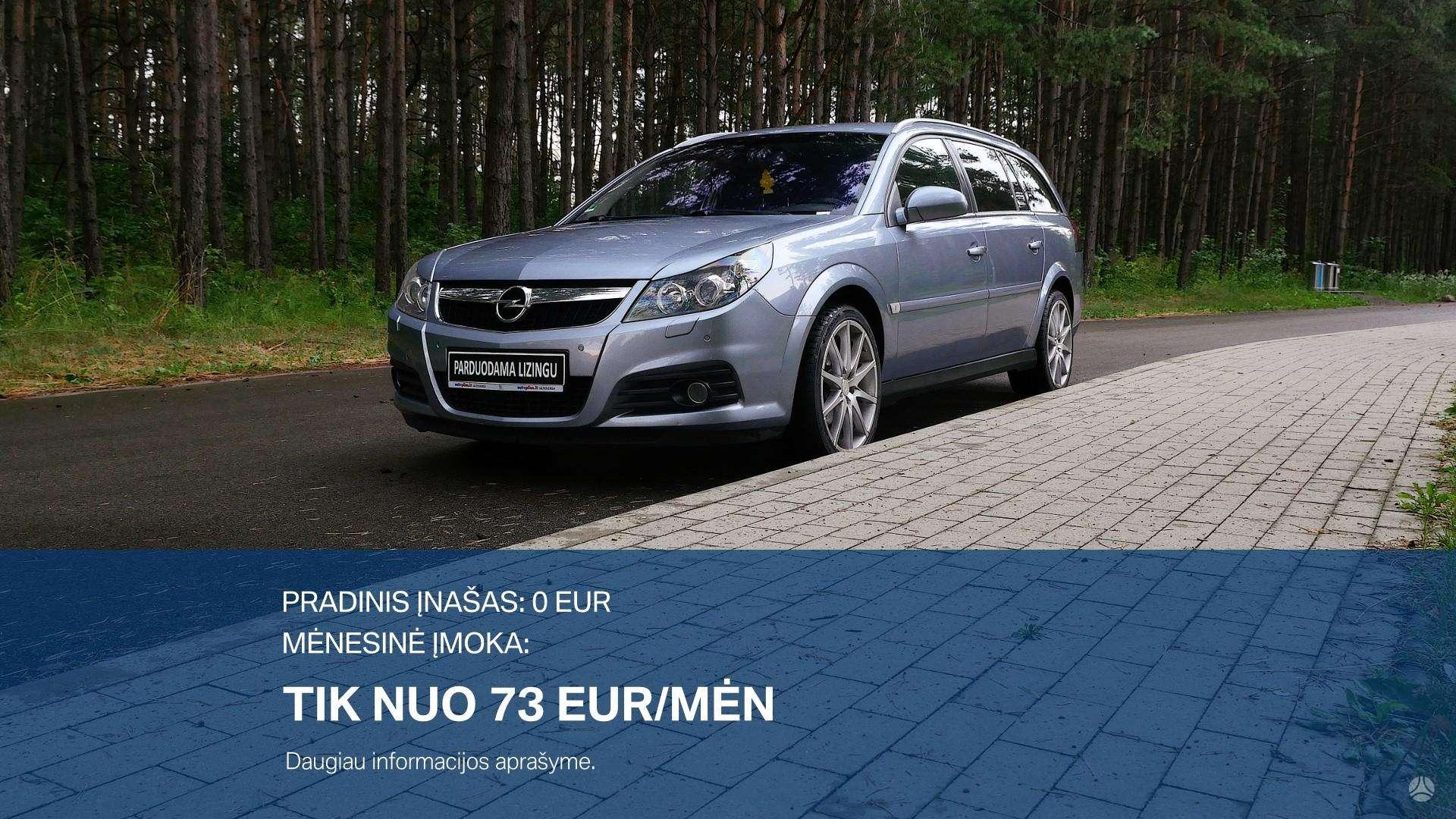 Opel Vectra išsimokėtinai nuo 73Eur/Mėn su 3 mėnesių garantija