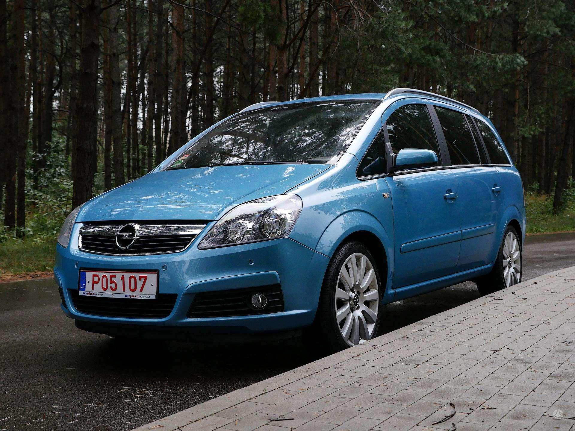 Opel Zafira Išsimokėtinai nuo 75Eur/Mėn su 3 mėnesių garantija