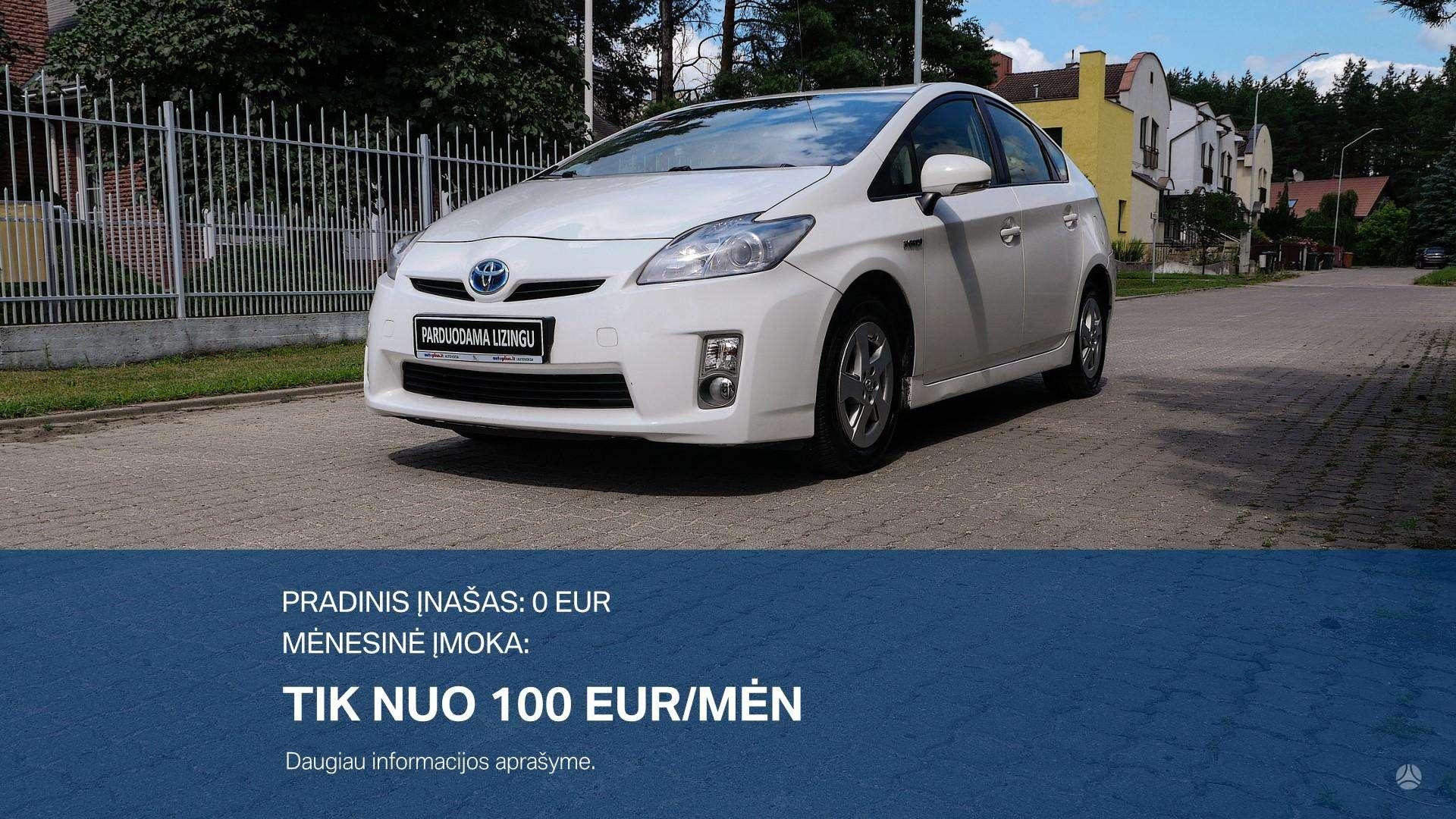 Toyota Prius išsimokėtinai nuo 100Eur/Mėn su 3 mėnesių garantija