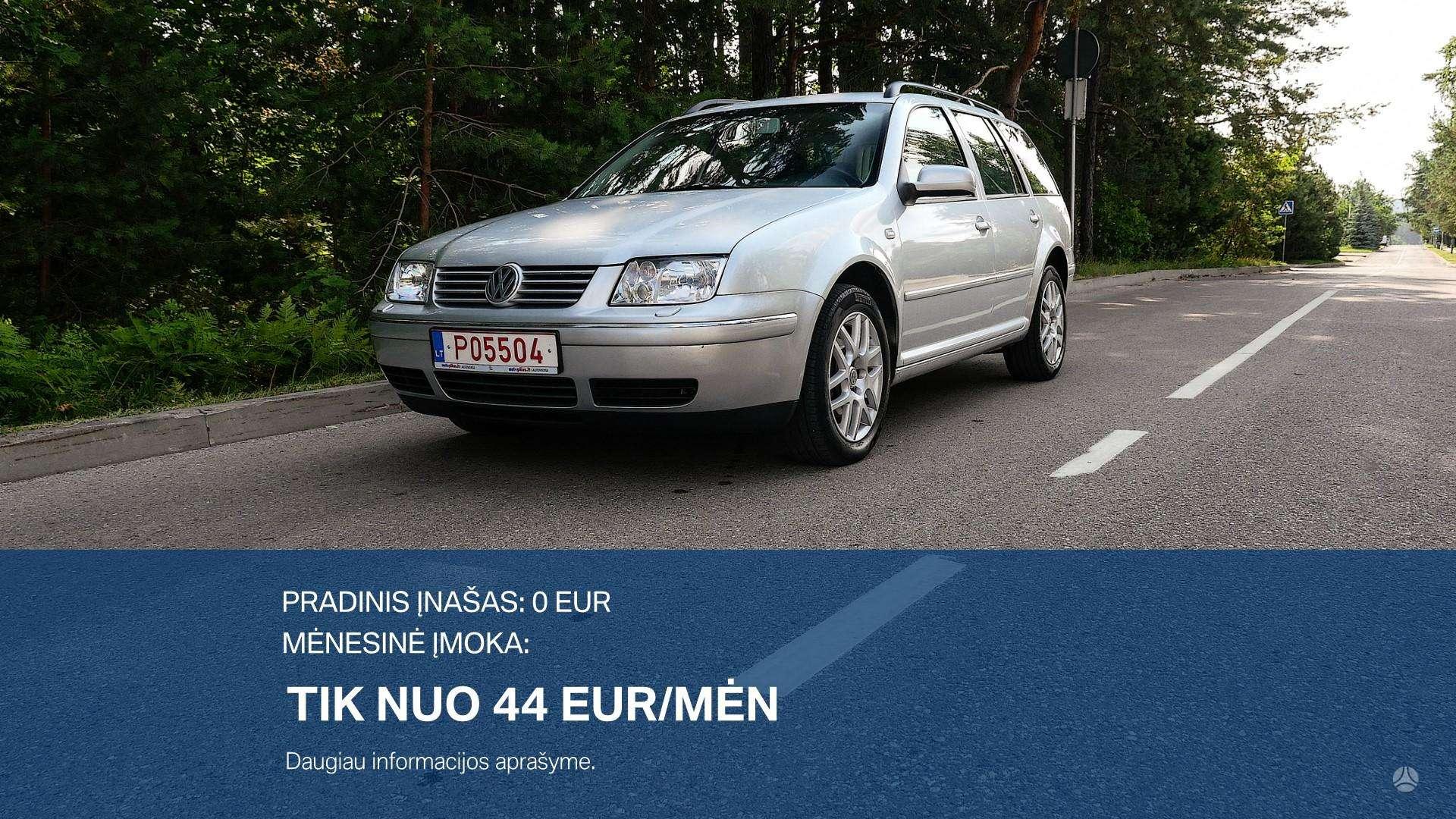 Volkswagen Bora Išsimokėtinai nuo 44Eur/Mėn su 3 mėnesių garantija