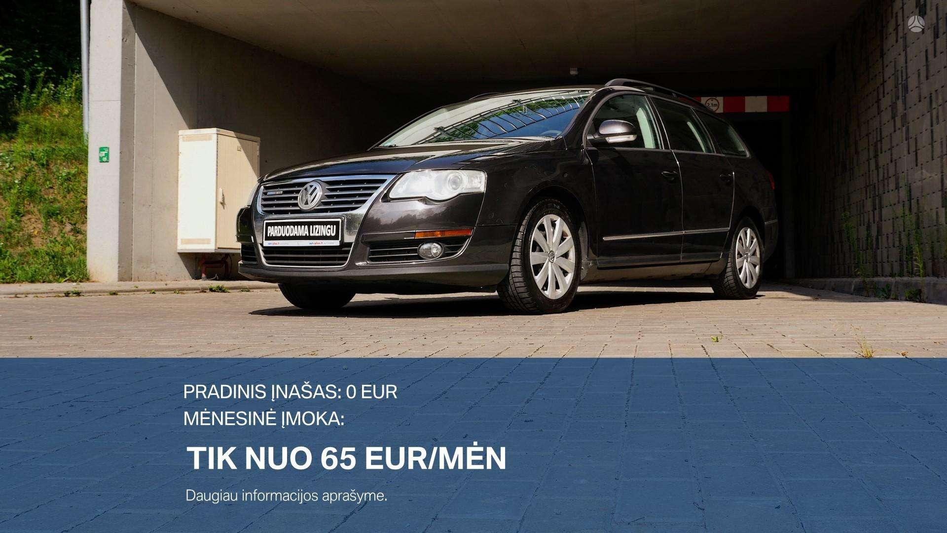 Volkswagen Passat išsimokėtinai nuo 65Eur/Mėn su 3 mėnesių garantija
