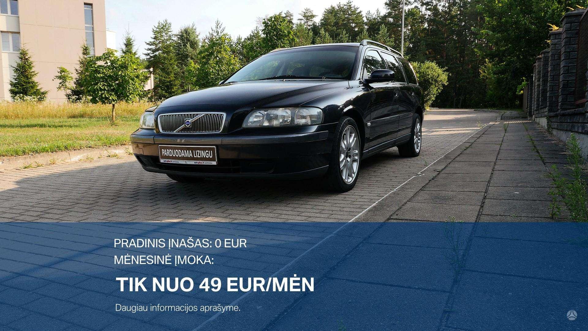 Volvo V70 išsimokėtinai nuo 49Eur/Mėn su 3 mėnesių garantija