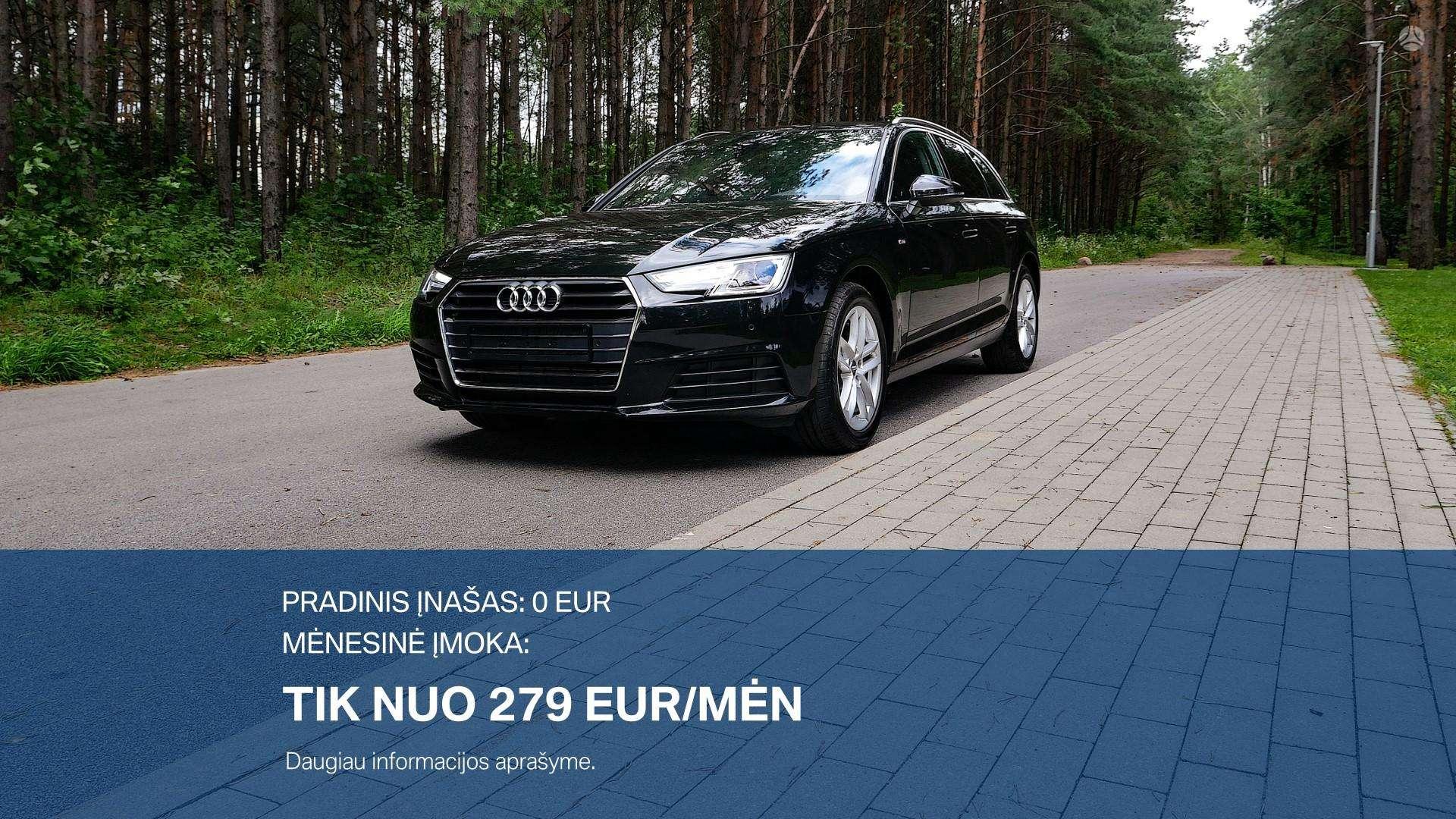 Audi A4 Išsimokėtinai nuo 279Eur/Mėn su 3 mėnesių garantija