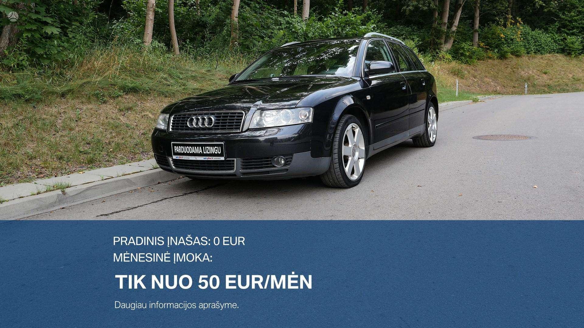 Audi A4  išsimokėtinai nuo 50Eur/Mėn su 3 mėnesių garantija