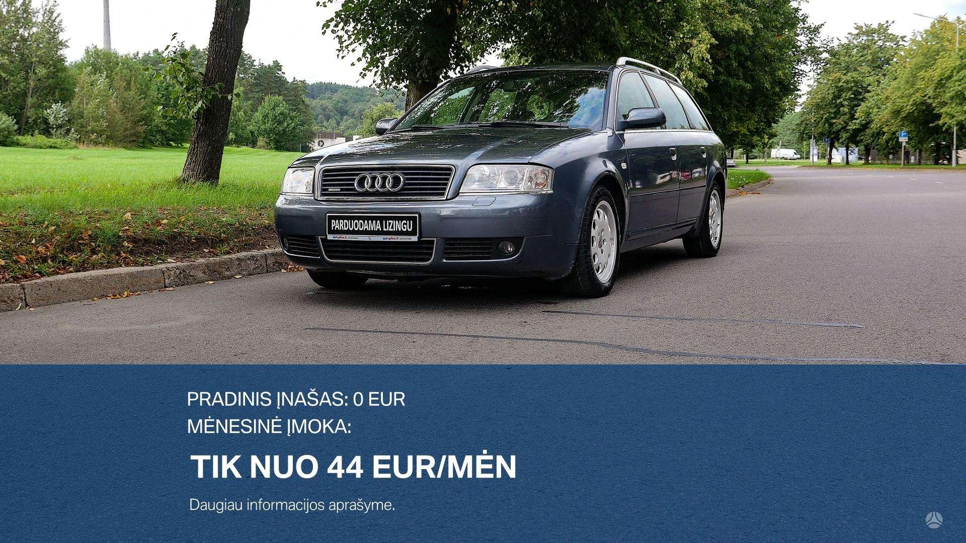 Audi A6 Išsimokėtinai nuo 44Eur/Mėn su 3 mėnesių garantija