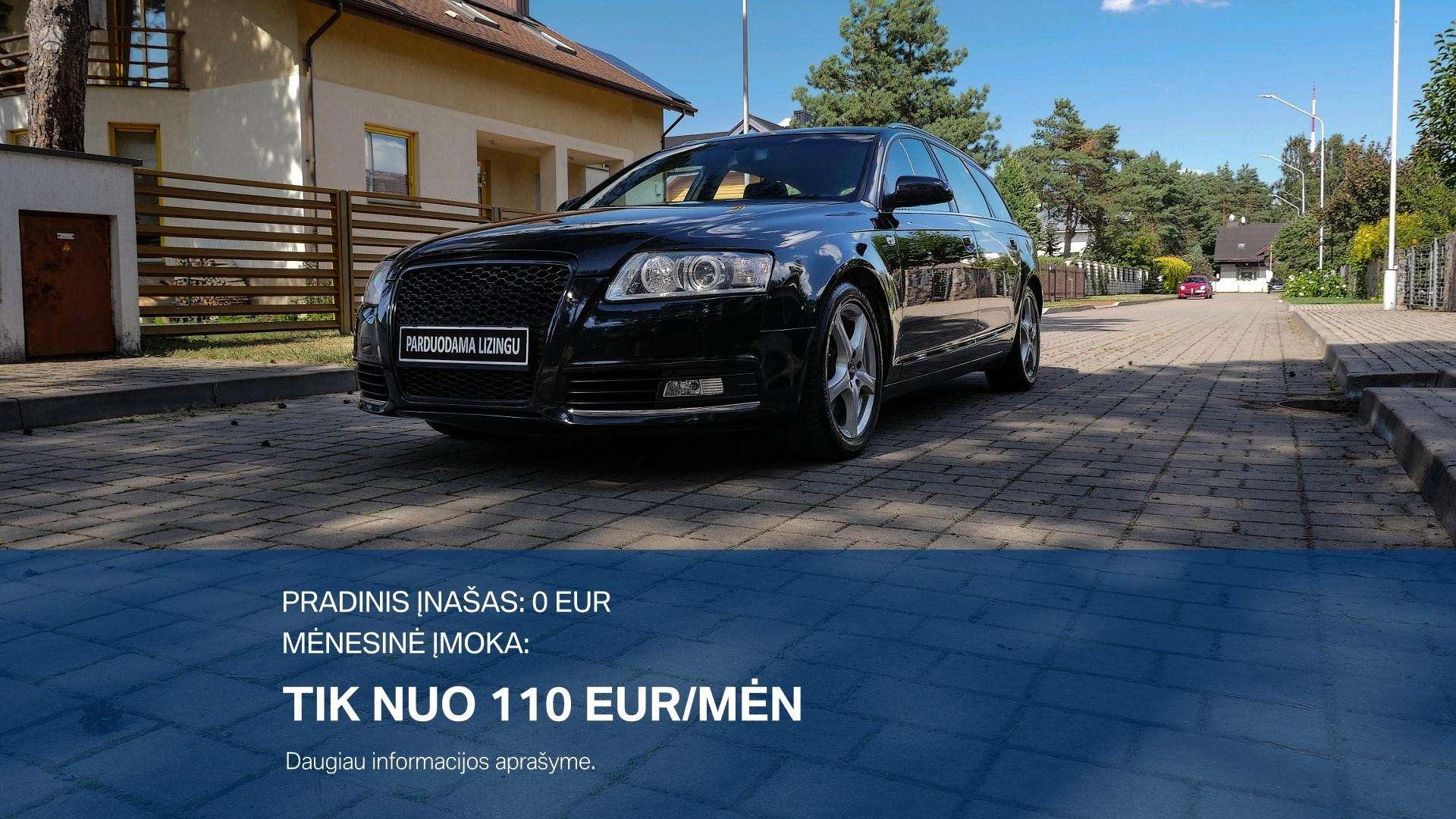 Audi A6 Išsimokėtinai nuo 110Eur/Mėn su 3 mėnesių garantija