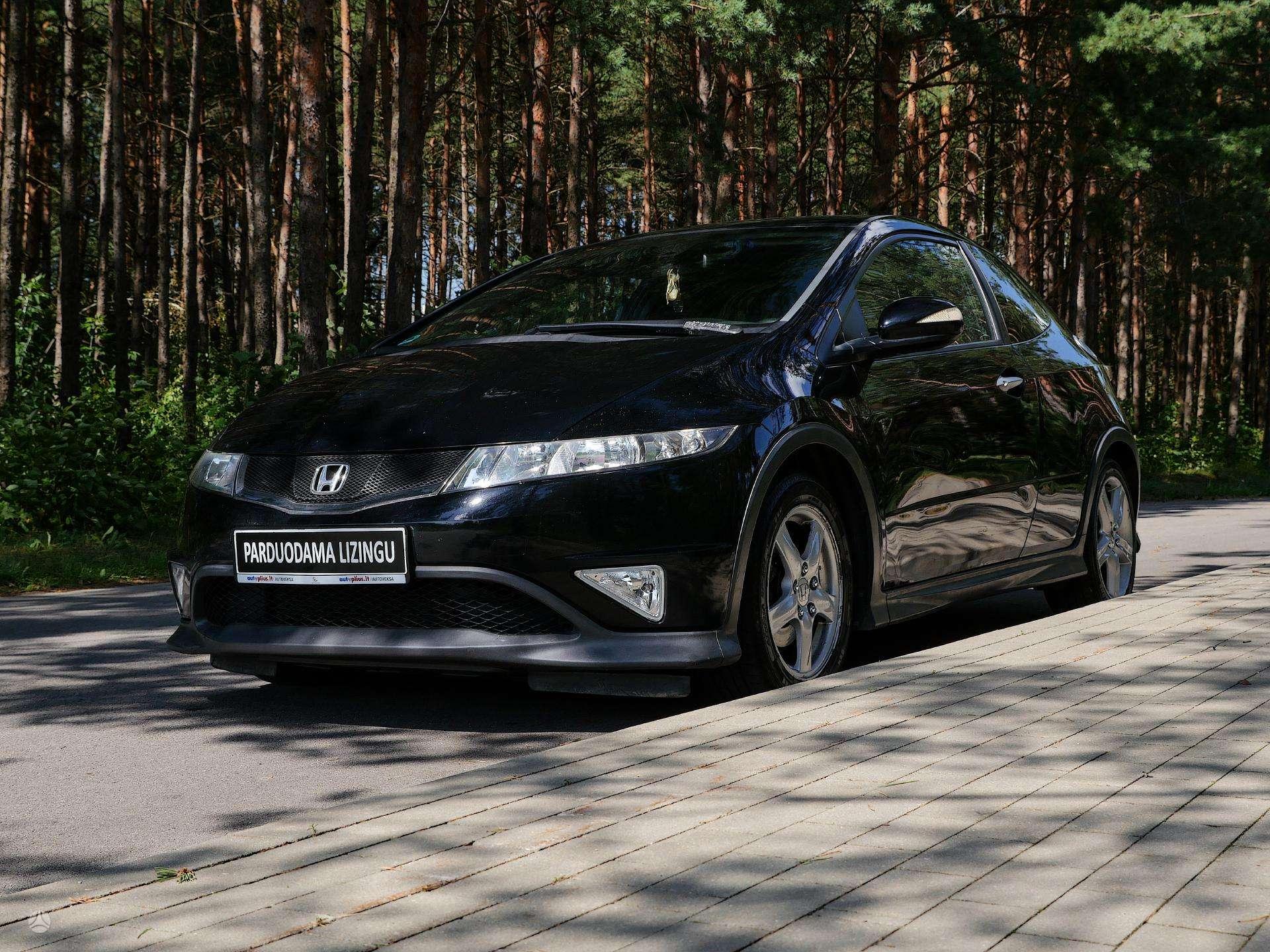 Honda Civic išsimokėtinai nuo 63Eur/Mėn su 3 mėnesių garantija