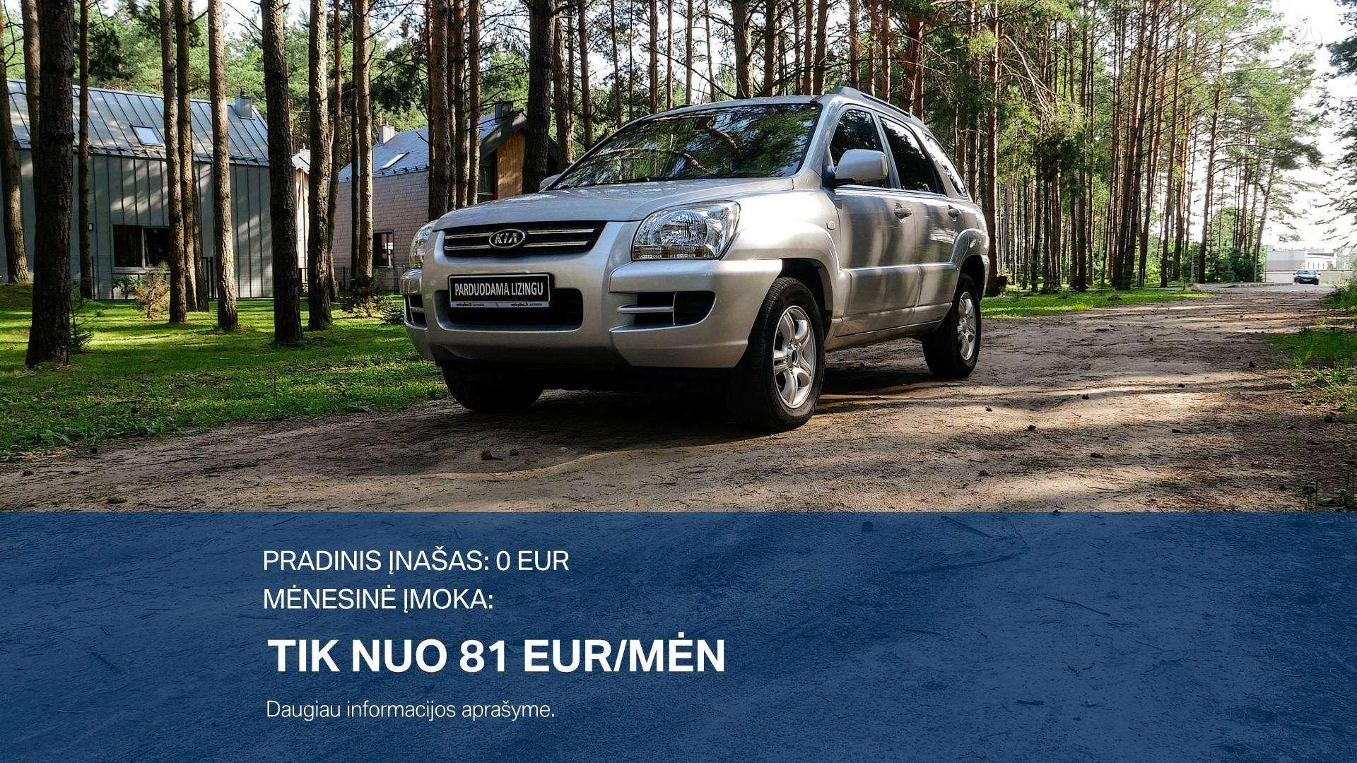 Kia Sportage Išsimokėtinai nuo 81Eur/Mėn su 3 mėnesių garantija