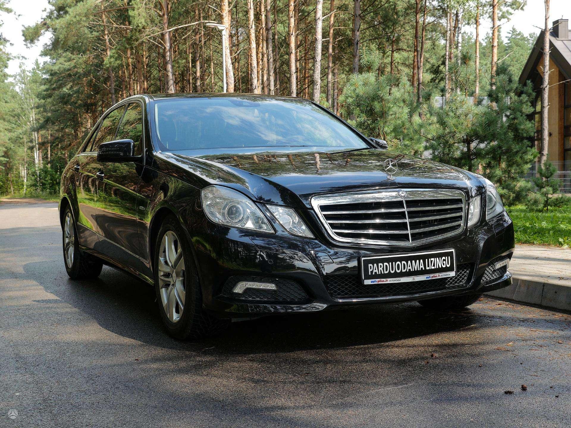 Mercedes-Benz E350 Išsimokėtinai nuo 223Eur/Mėn su 3 mėnesių garantija