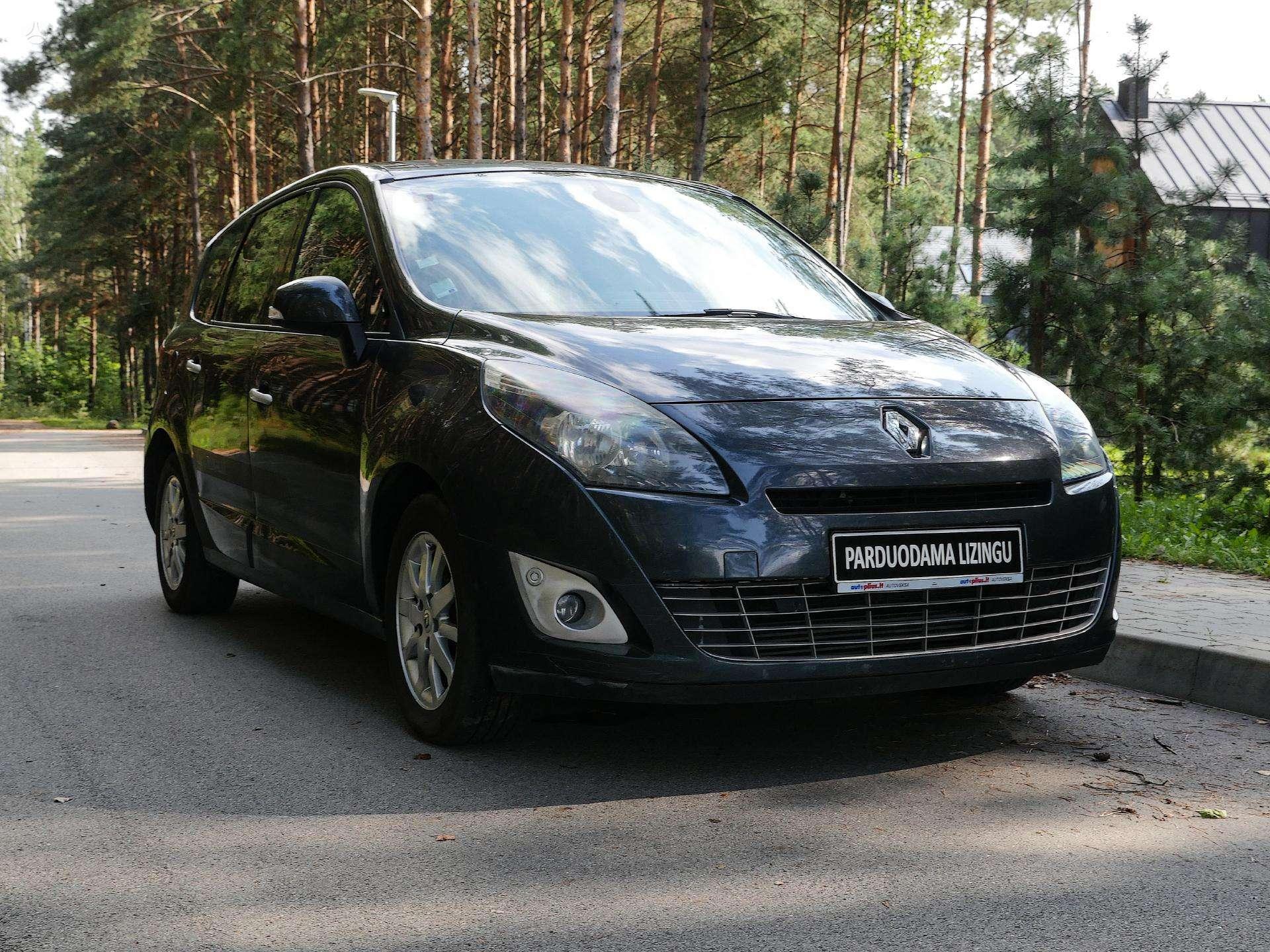 Renault Scenic Išsimokėtinai nuo 86Eur/Mėn su 3 mėnesių garantija