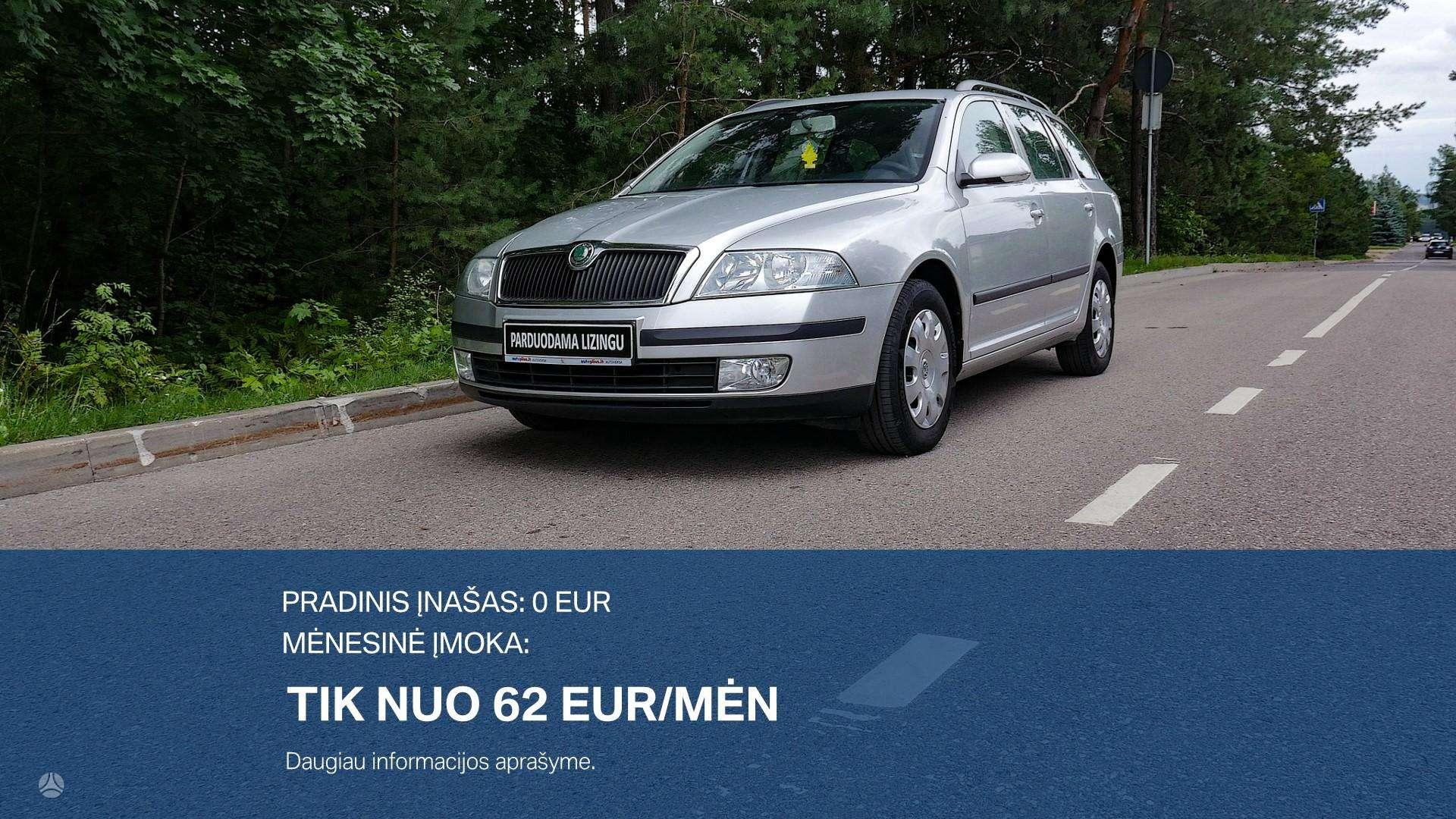 Skoda Octavia Išsimokėtinai nuo 62Eur/Mėn su 3 mėnesių garantija