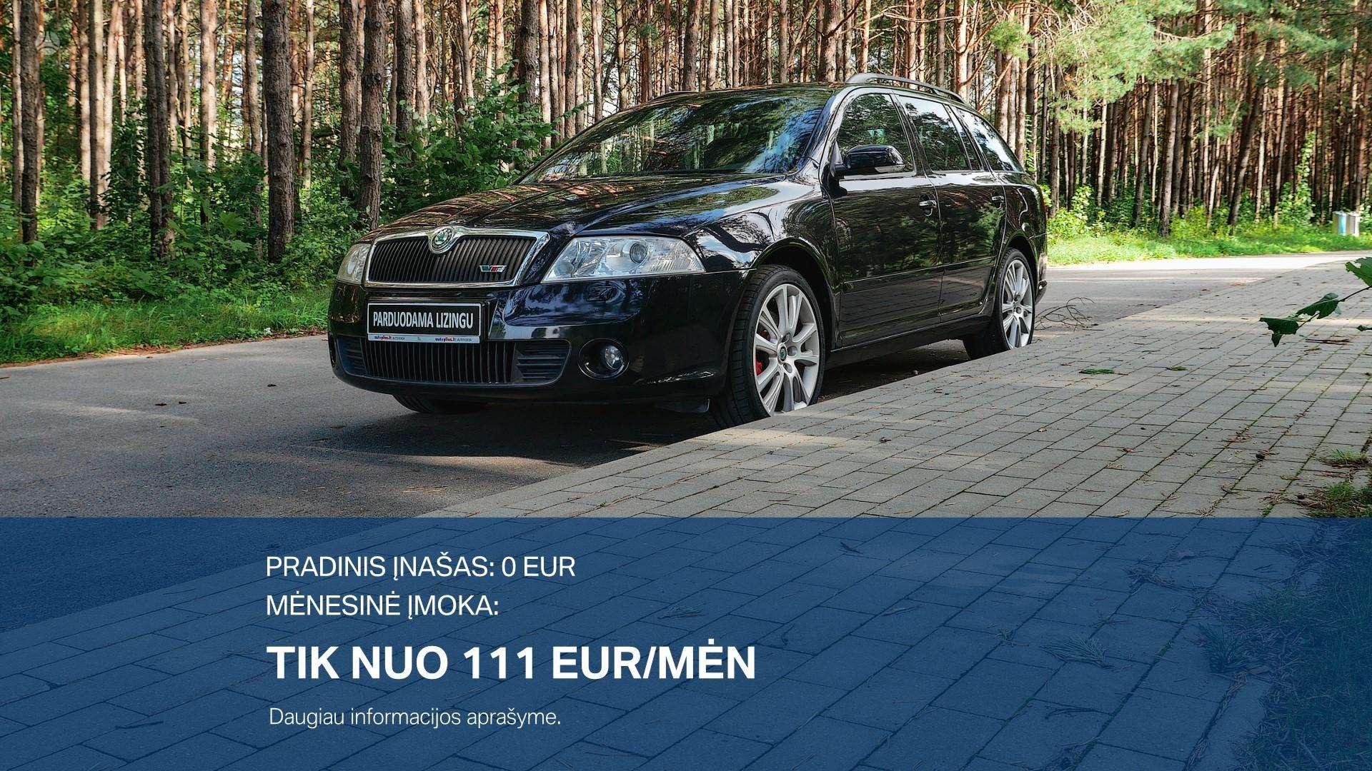 Skoda Octavia Išsimokėtinai nuo 111Eur/Mėn su 3 mėnesių garantija