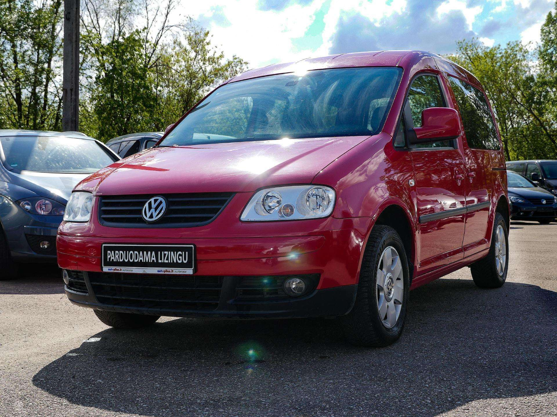 Volkswagen Caddy Išsimokėtinai nuo 80Eur/Mėn su 3 mėnesių garantija