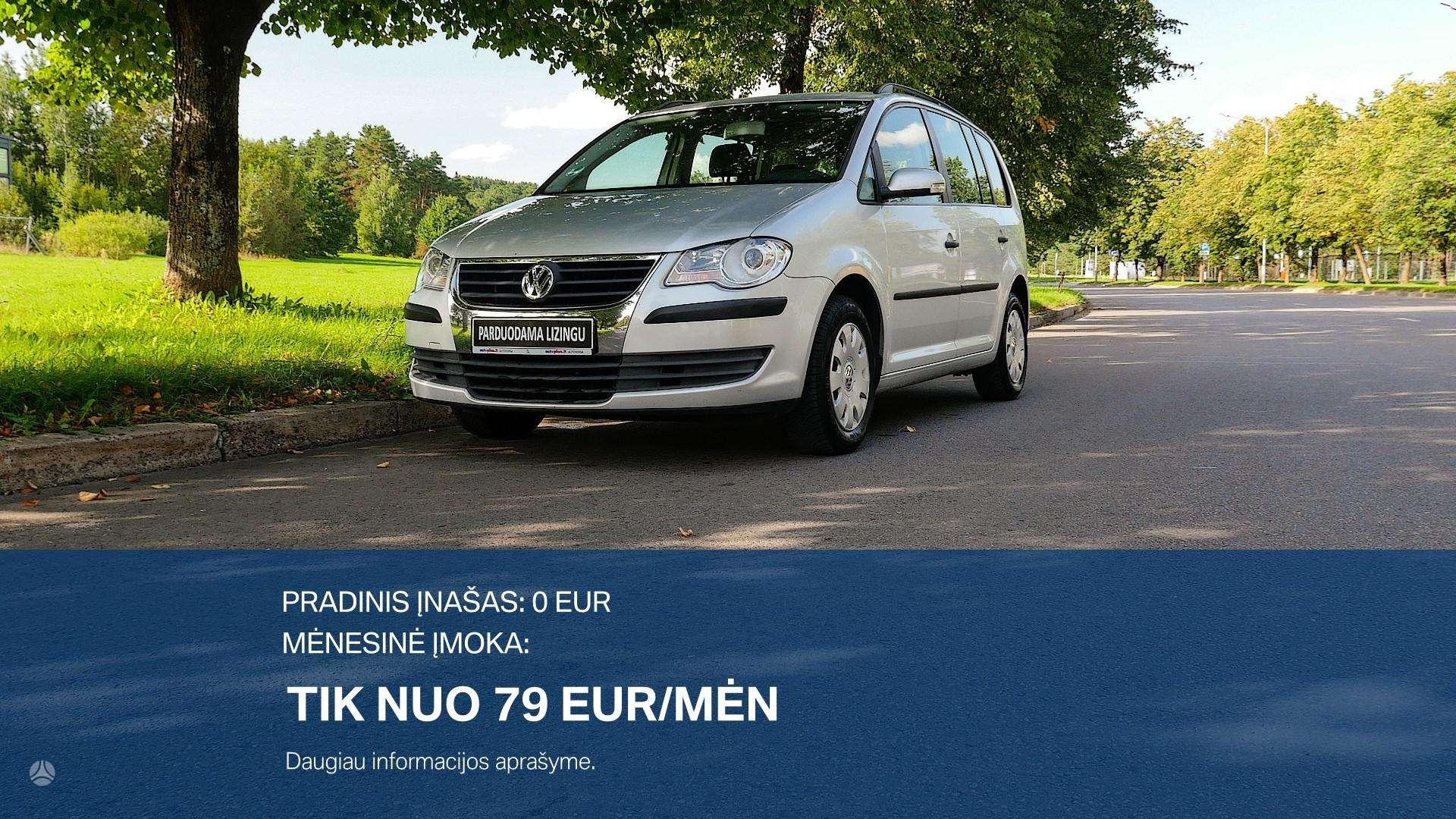 Volkswagen Touran Išsimokėtinai nuo 79Eur/Mėn su 3 mėnesių garantija