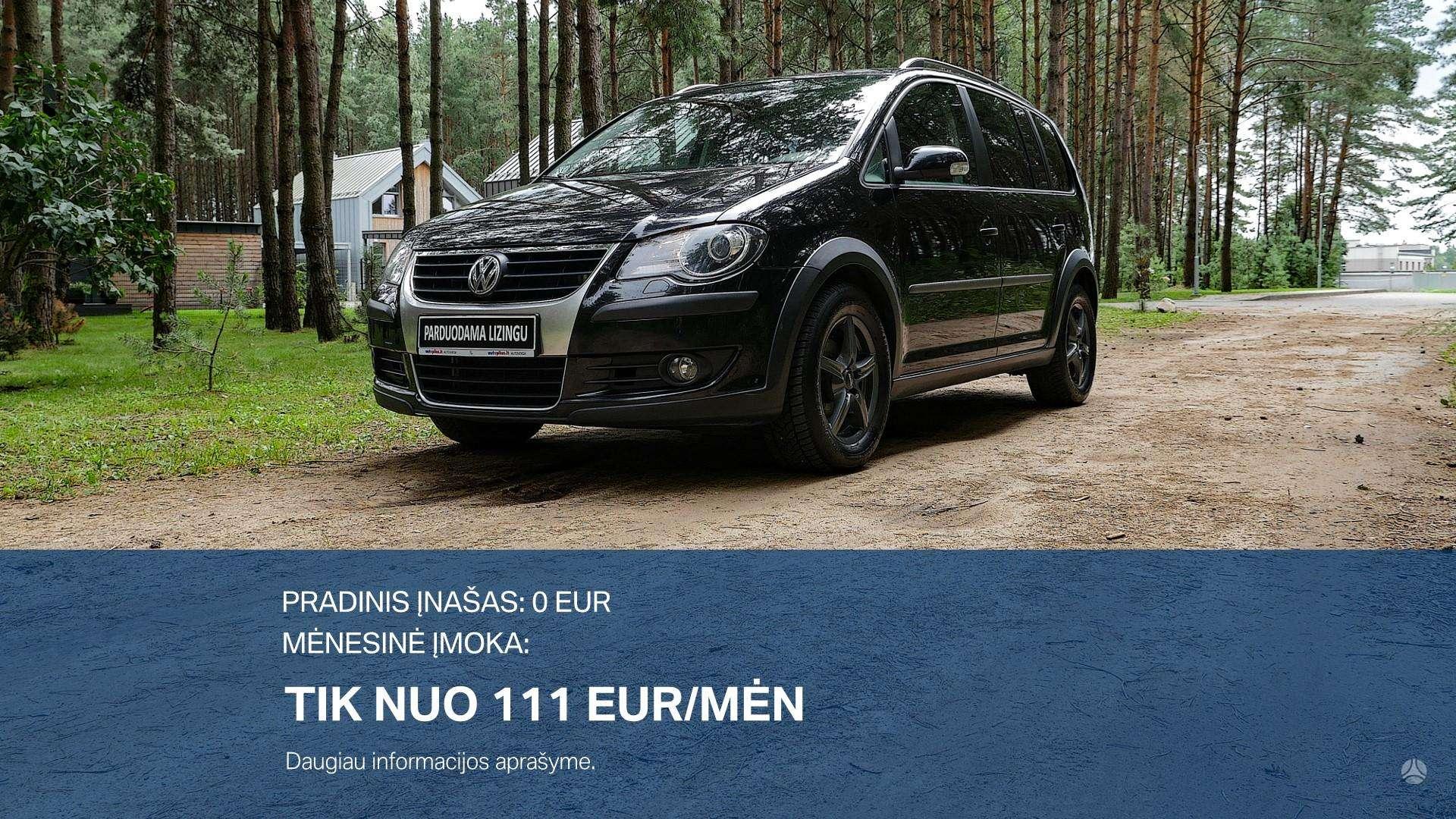 Volkswagen Touran Išsimokėtinai nuo 111Eur/Mėn su 3 mėnesių garantija