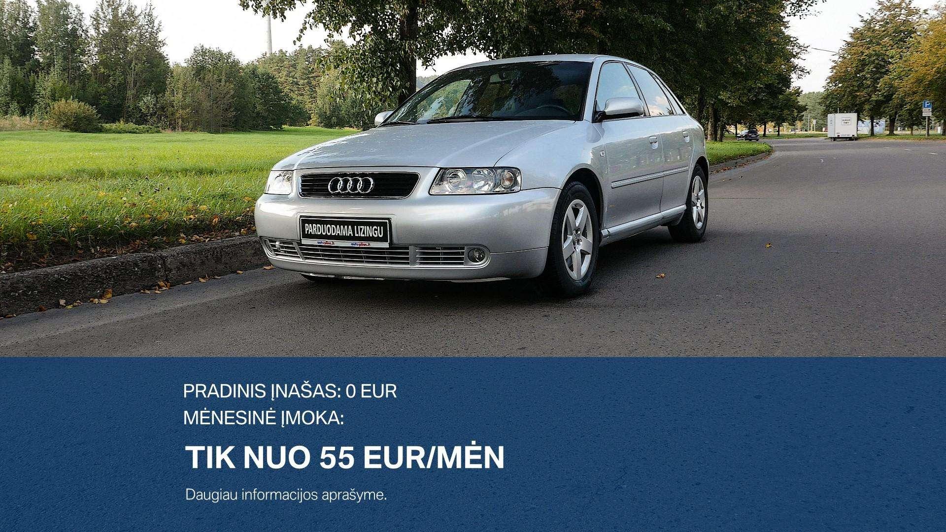 Audi A3 Išsimokėtinai nuo 55Eur/Mėn su 3 mėnesių garantija