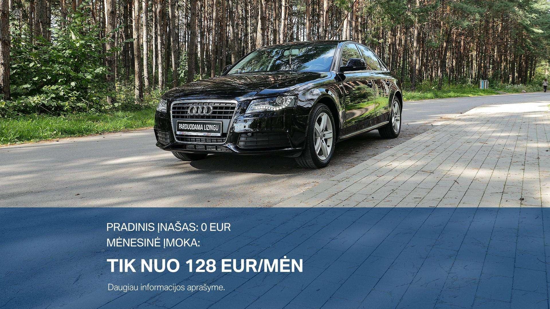 Audi A4 Išsimokėtinai nuo 128Eur/Mėn su 3 mėnesių garantija