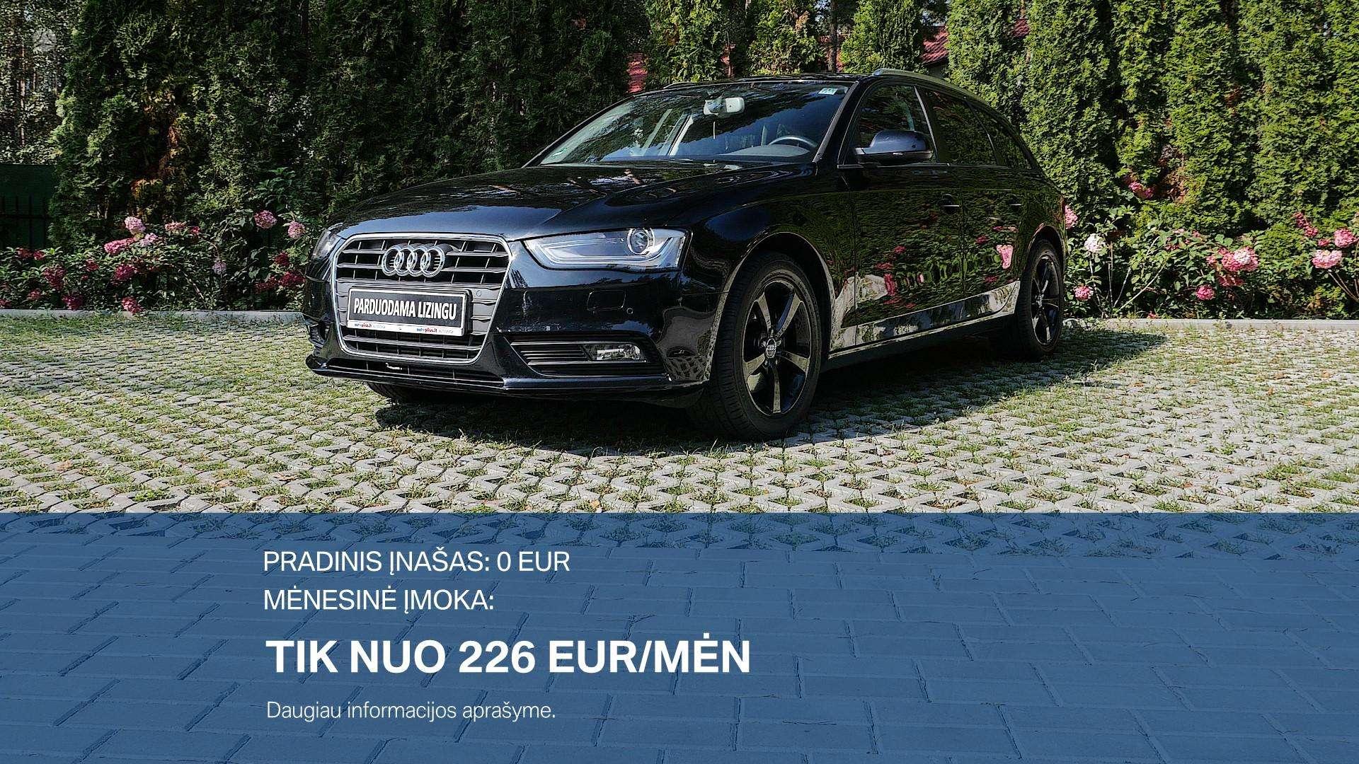 Audi A4 Išsimokėtinai nuo 226Eur/Mėn su 3 mėnesių garantija