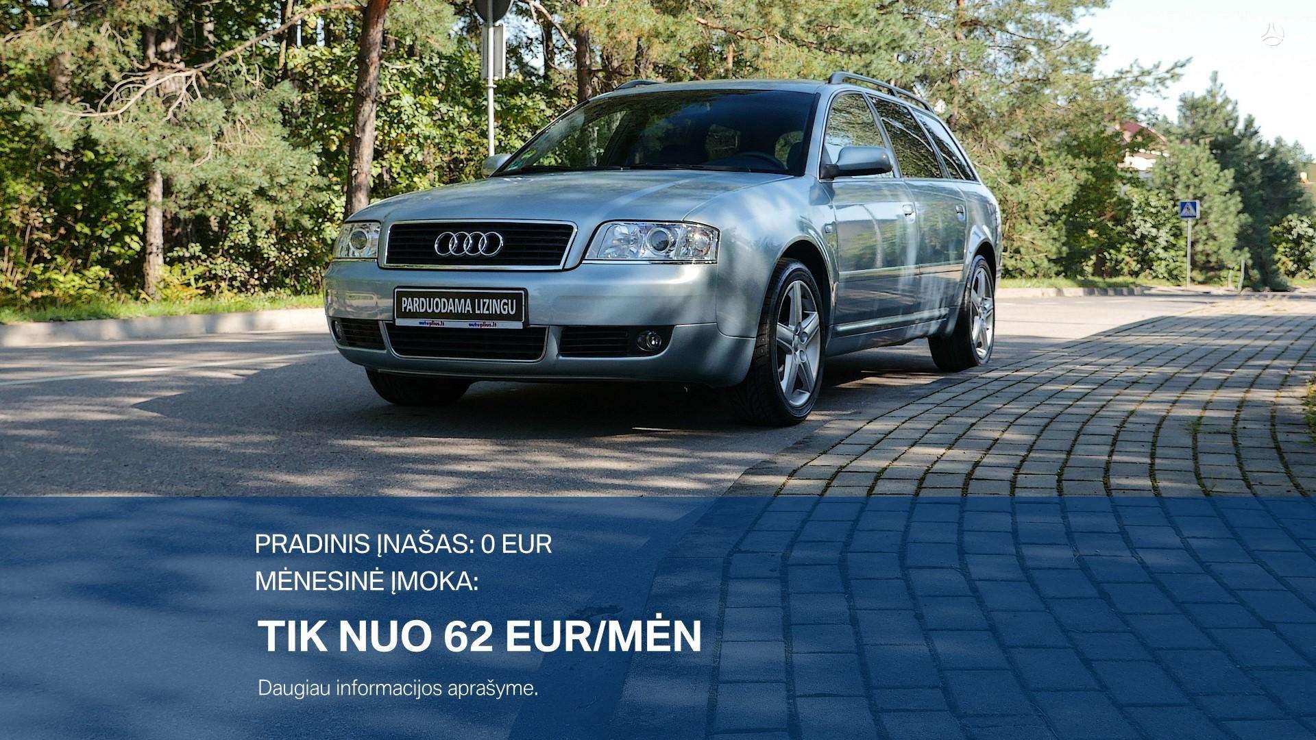 Audi A6 Išsimokėtai nuo 62Eur/Mėn su 3 mėnesių garantija
