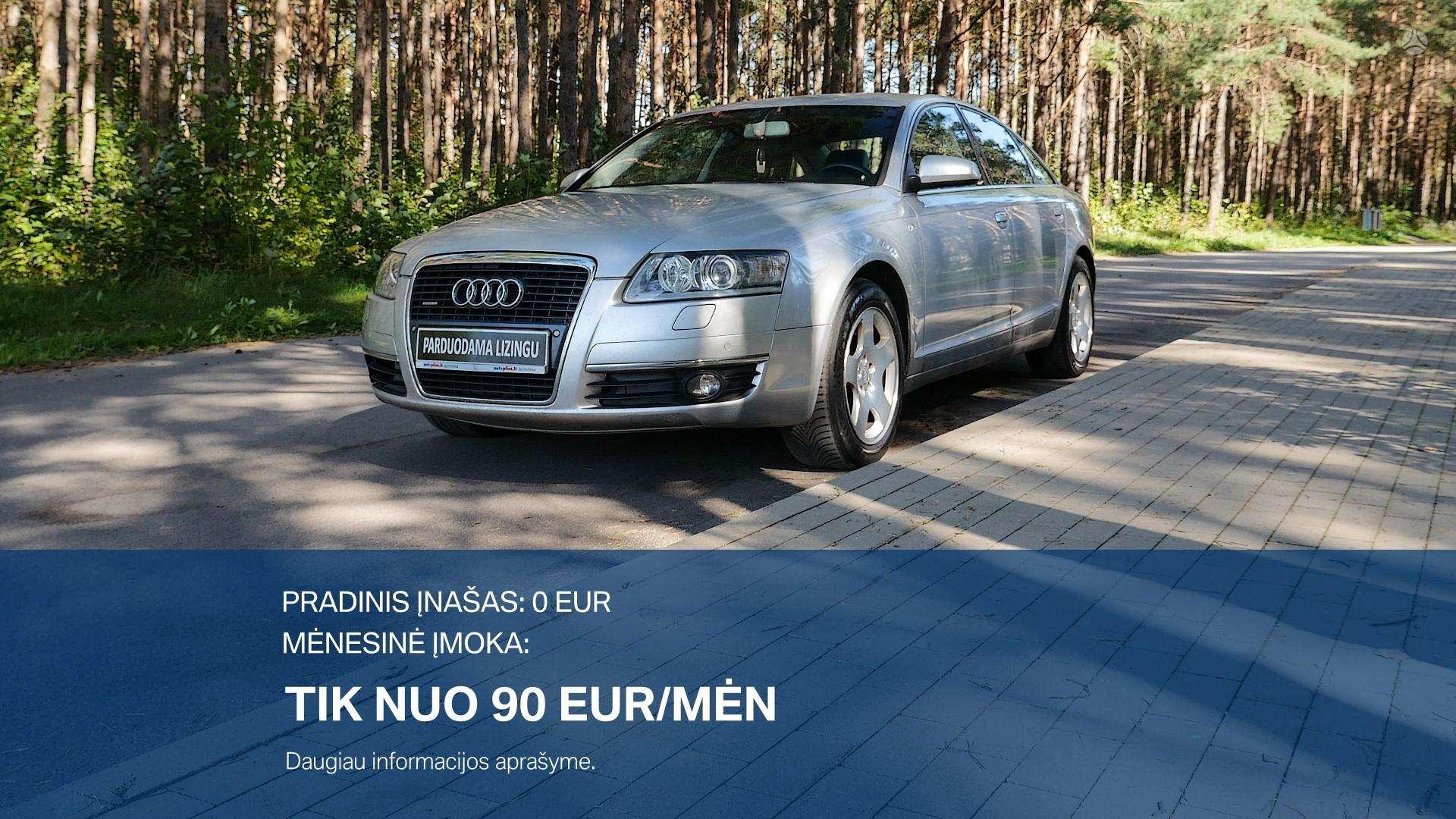 Audi A6 Išsimokėtinai nuo 90Eur/Mėn su 3 mėnesių garantija