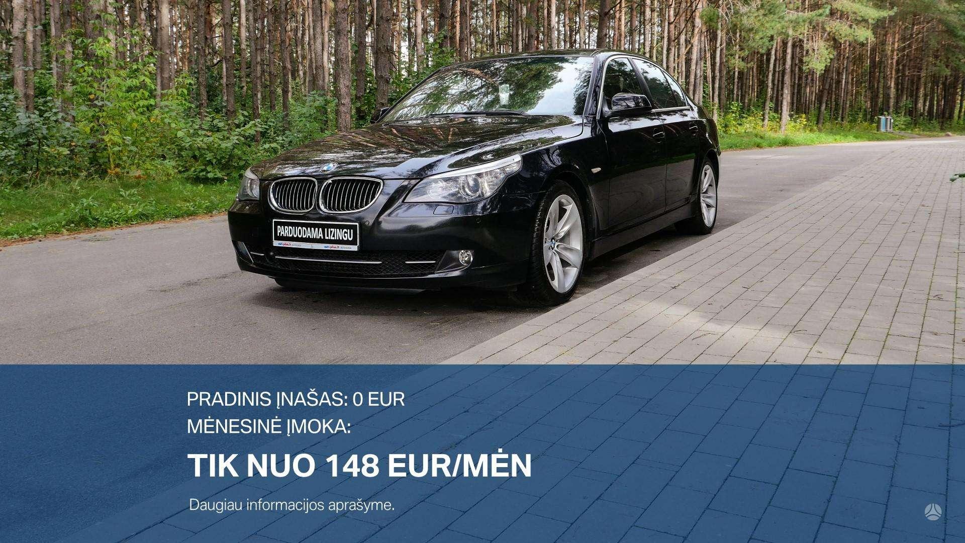 BMW 530 Išsimokėtinai nuo 148Eur/Mėn su 3 mėnesių garantija