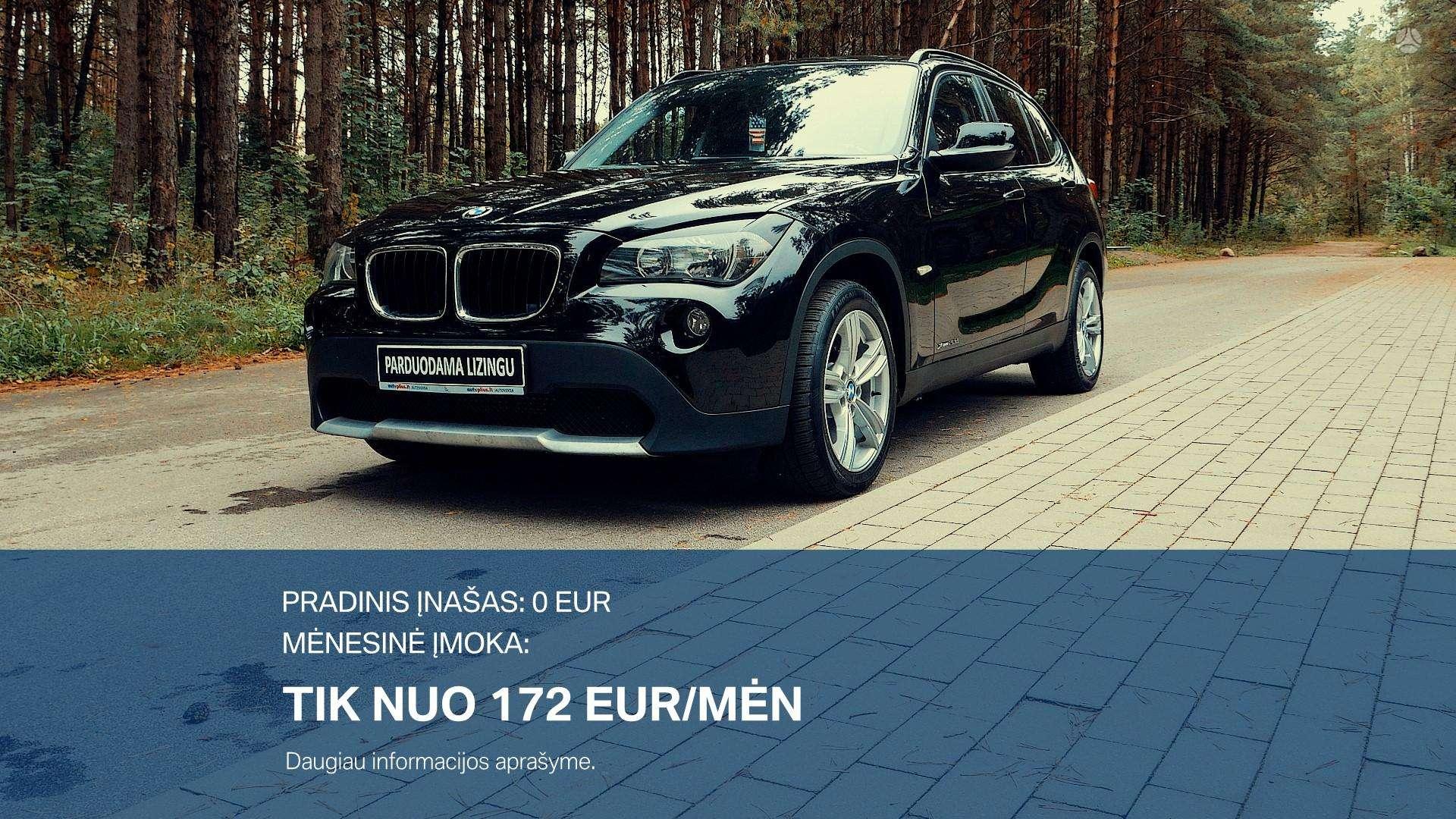 BMW X1 Išsimokėtinai nuo 172Eur/Mėn su 3 mėnesių garantija