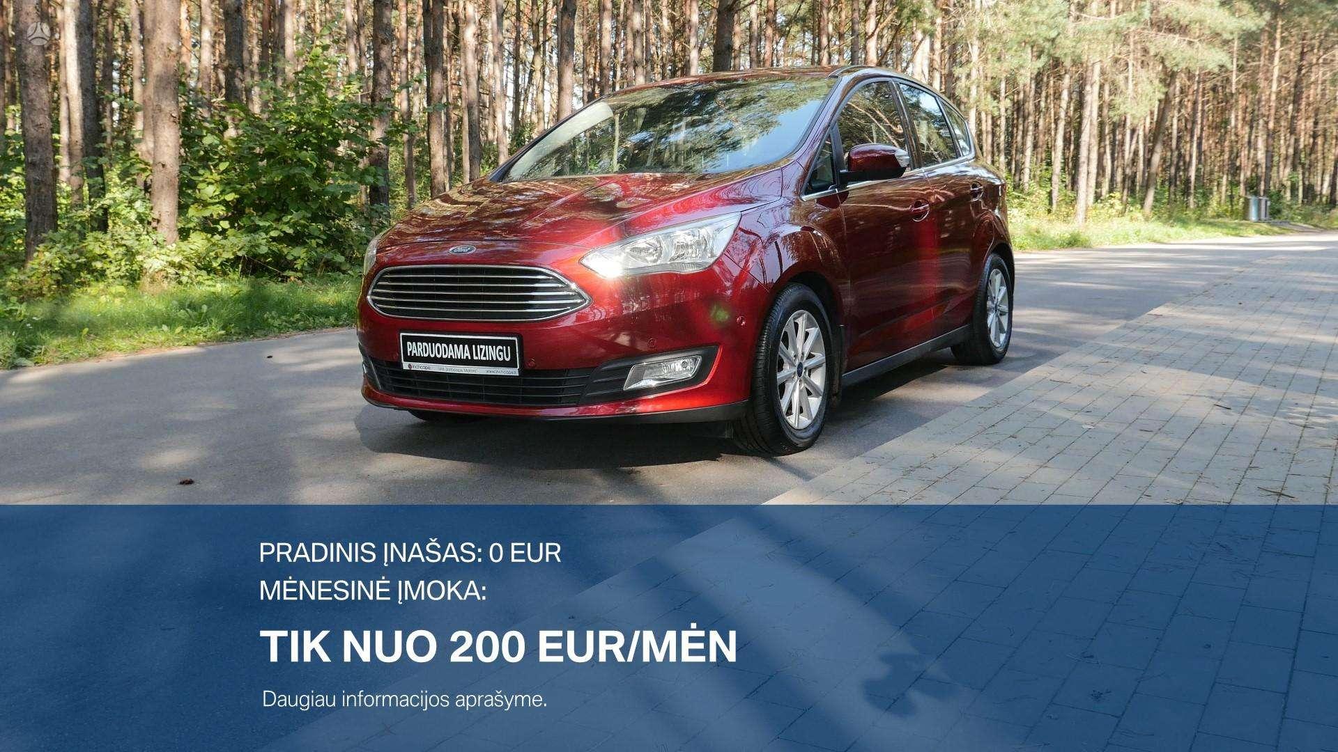 Ford C-MAX Išsimokėtinai nuo 200Eur/Mėn su 3 mėnesių garantija
