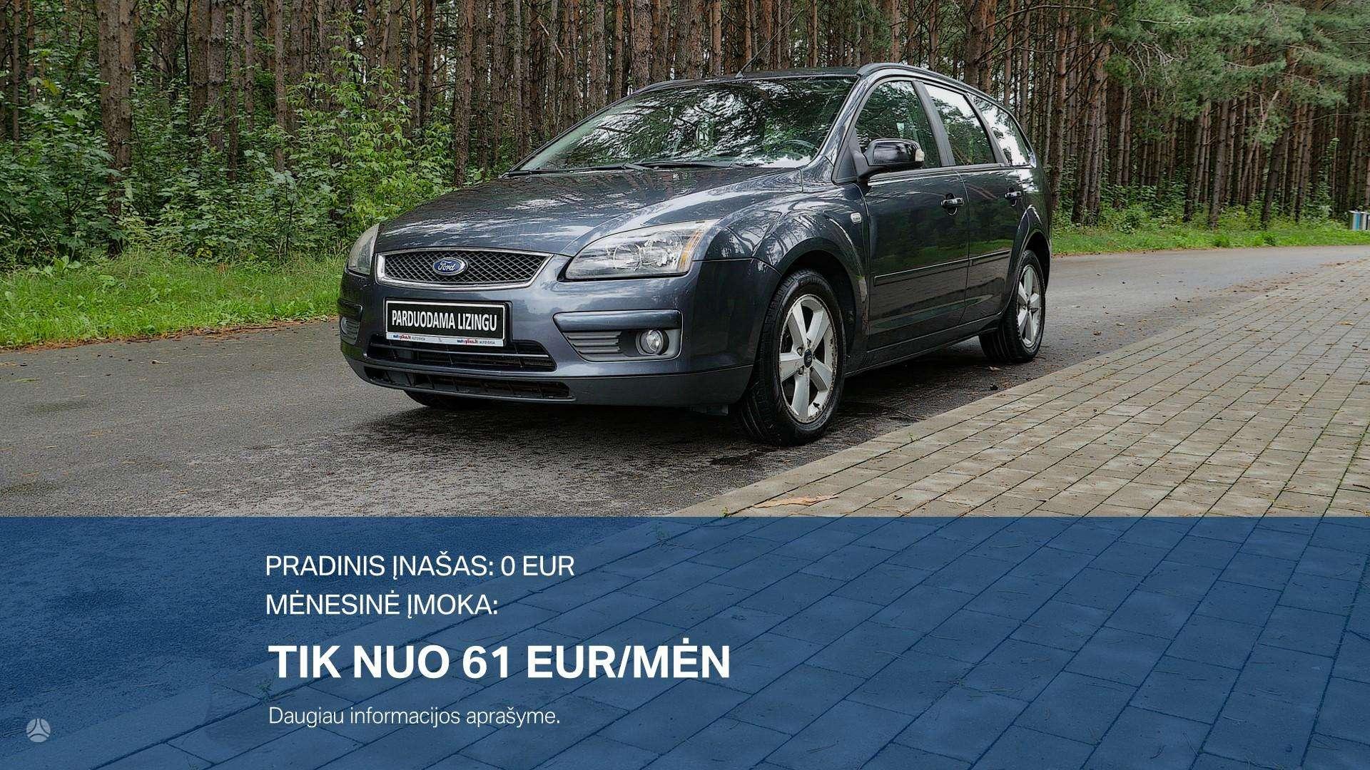 Ford Focus Išsimokėtinai nuo 61Eur/Mėn su 3 mėnesių garantija