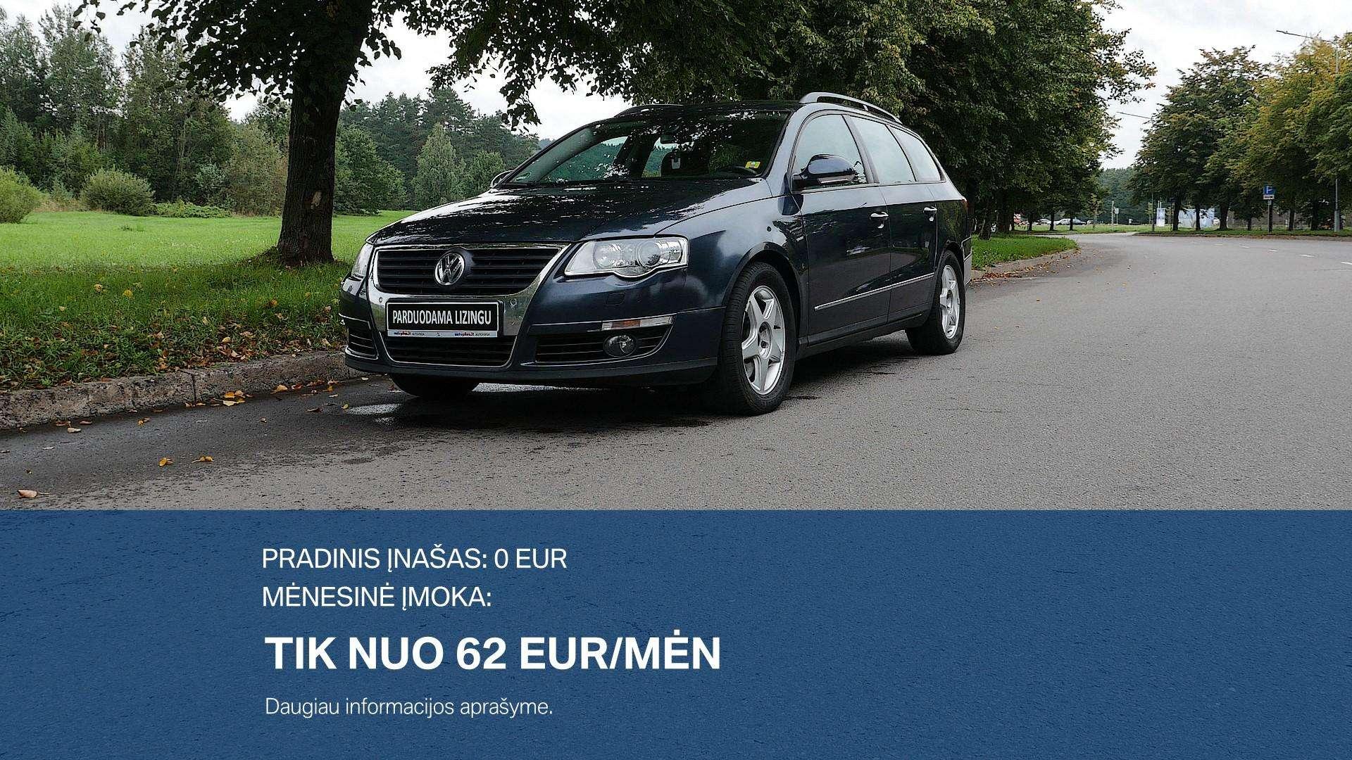Volkswagen Passat Išsimokėtinai nuo 62Eur/Mėn su 3 mėnesių garantija