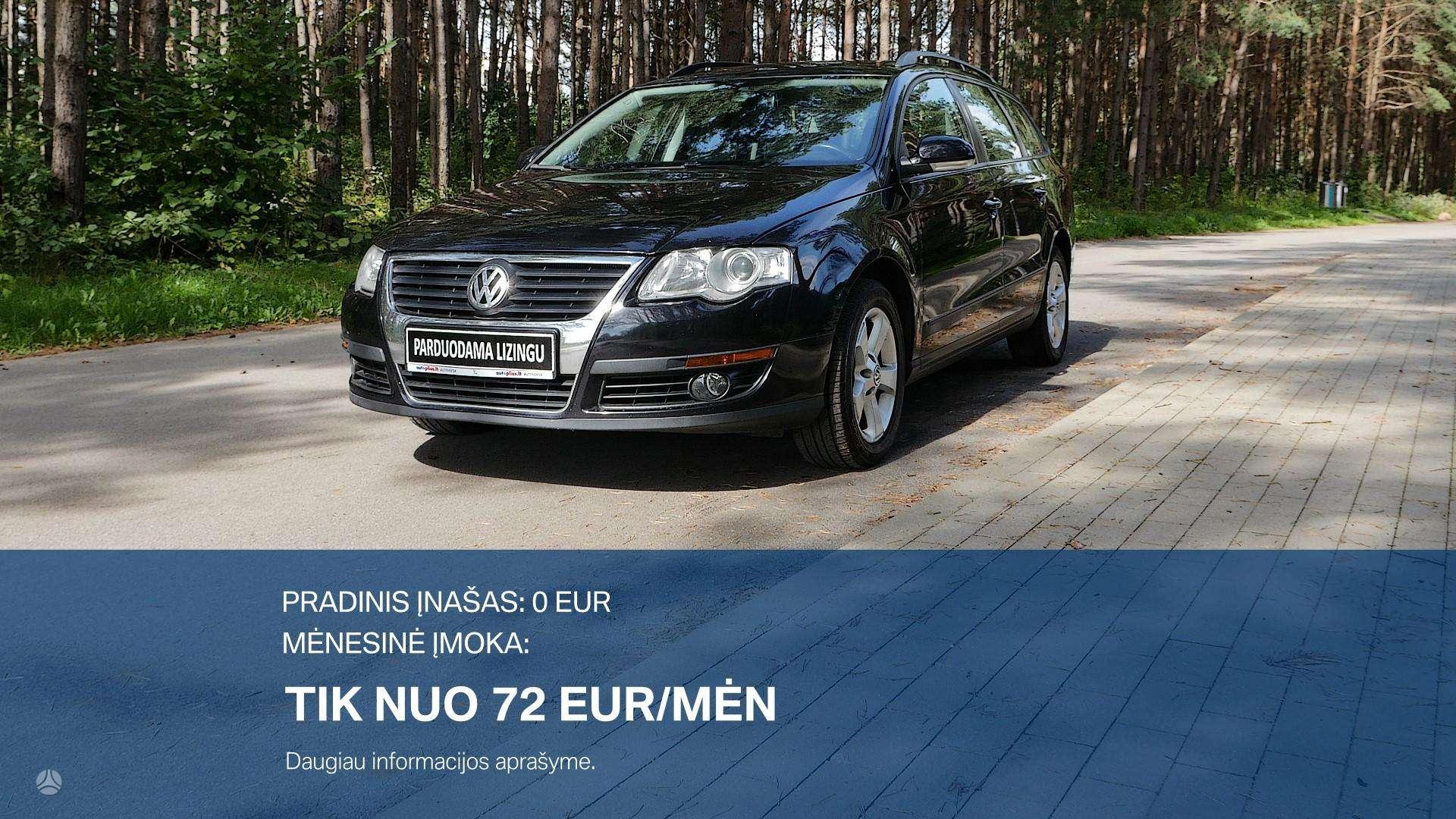 Volkswagen Passat Išsimokėtinai nuo 72Eur/Mėn su 3 mėnesių garantija