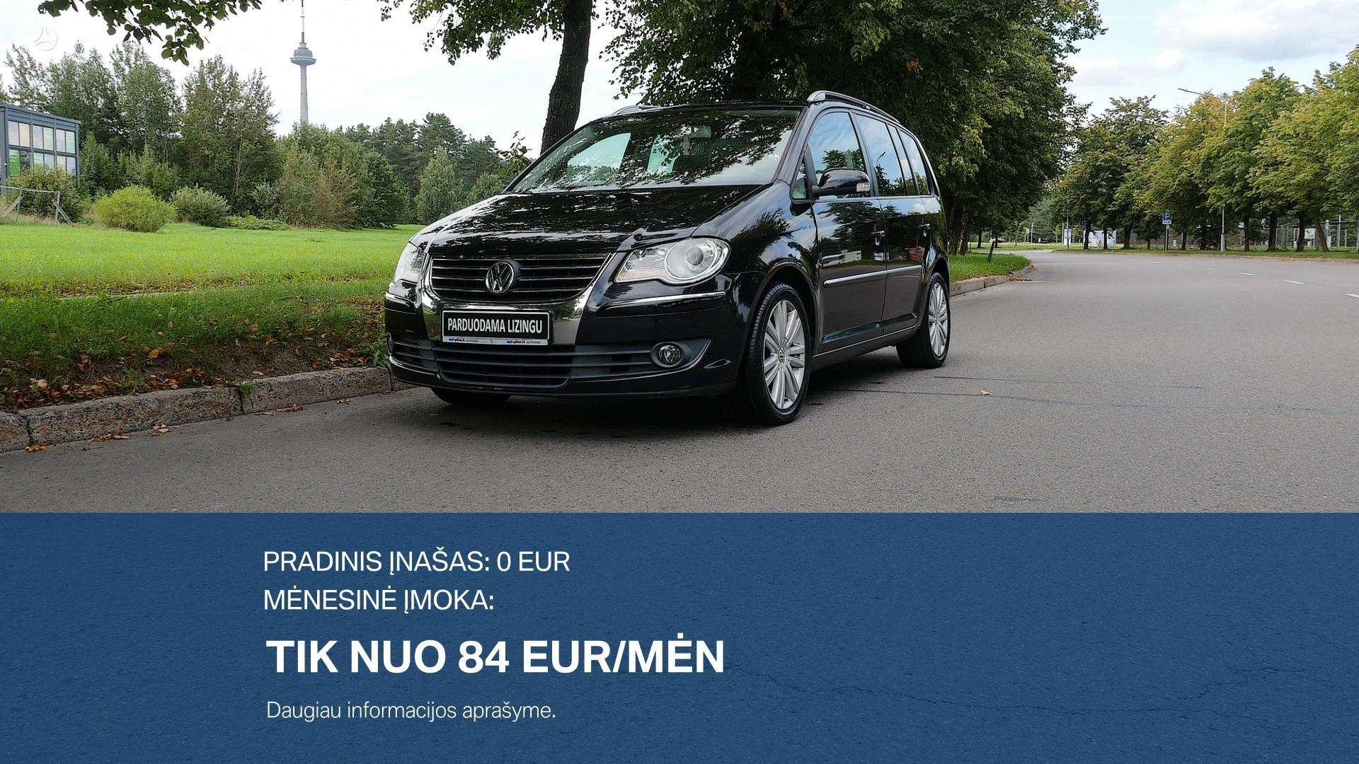 Volkswagen Touran Išsimokėtinai nuo 84Eur/Mėn su 3 mėnesių garantija