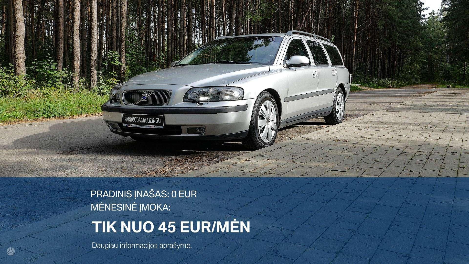 Volvo V70 Išsimokėtinai nuo 45Eur/Mėn su 3 mėnesių garantija